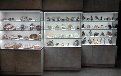 Instalace nových tematických vitrín